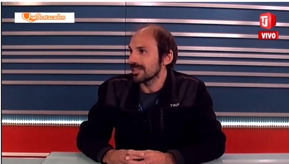 Mauricio Madrea, en TelejJunín