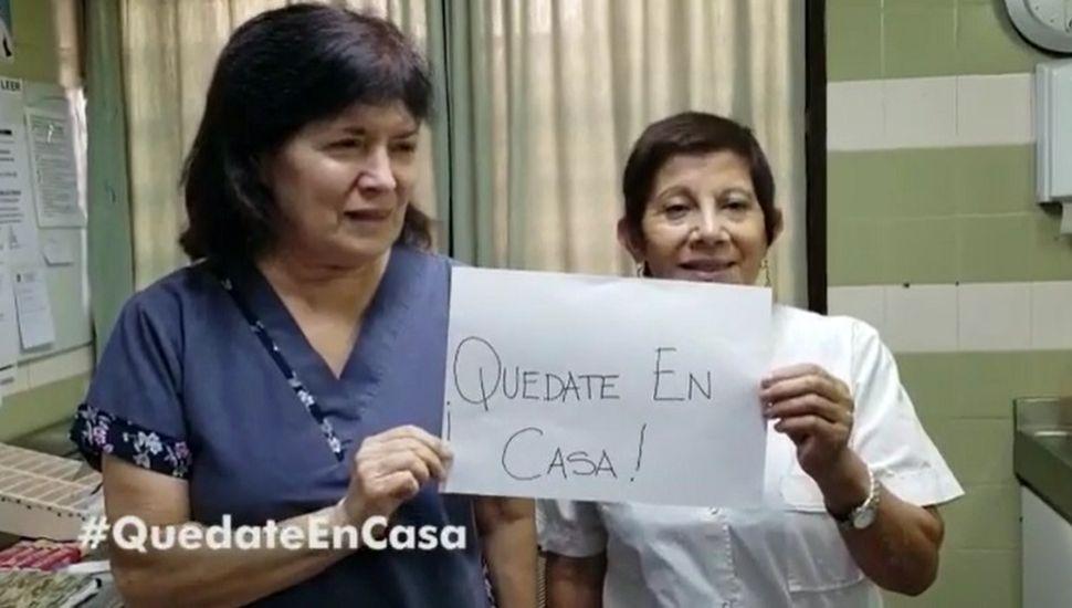 """""""Quedate en casa"""": el pedido del personal de salud de Chacabuco"""