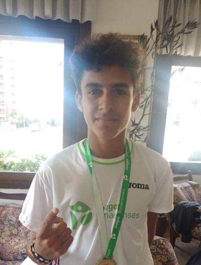 Uriel Muñoz se llevó la dorada en atletismo.