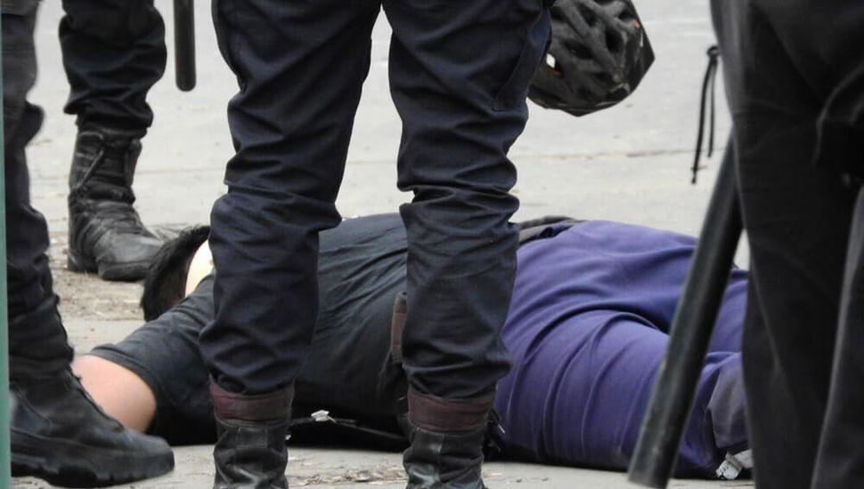 accidente policia control