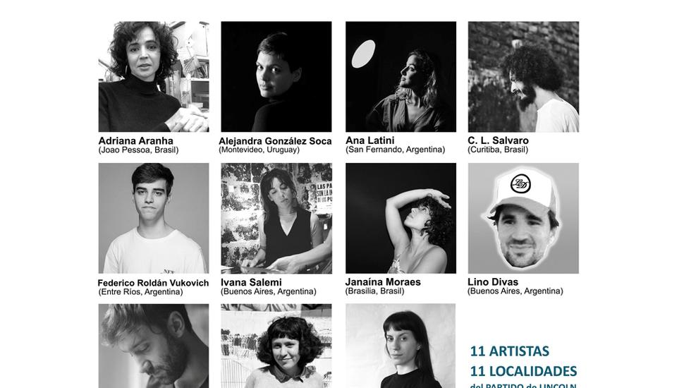 Artistas argentinos y extranjeros vivirán en los pueblos del distrito