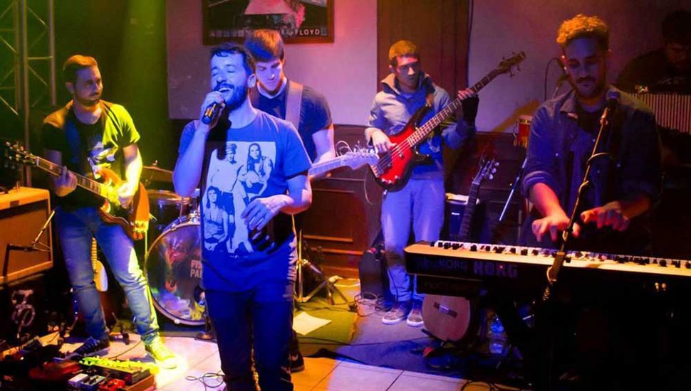 """La banda de rock juninense """"Fisurado y Paranoico"""" está en su mejor momento y ofrecerá sus temas en el """"¡Viva Granada!"""" 2019."""