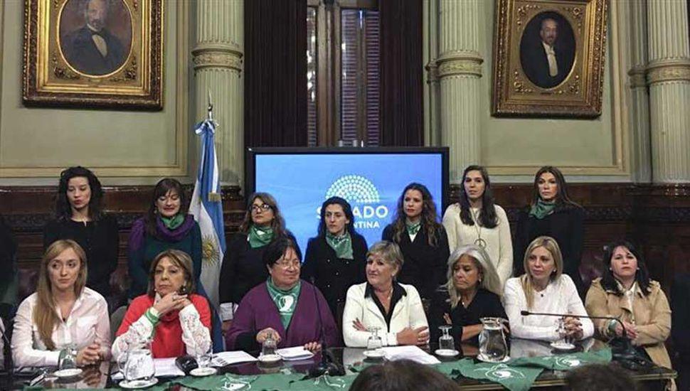 Comenzó el debate en comisiones del Senado