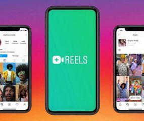 """Se lanzó Reels, el nuevo """"rival"""" de Tik Tok"""