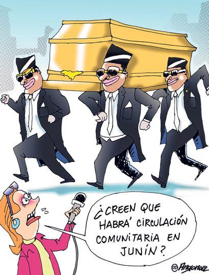 Covid-19: el 60% cree que habrá circulación comunitaria en Junín