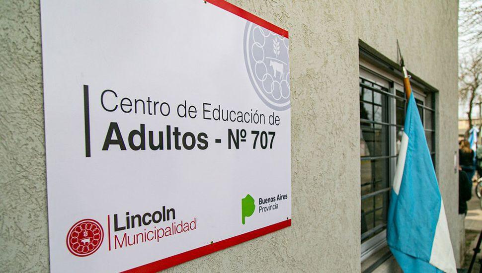 Lugar donde funcionará el Centro de Adultos N° 707.