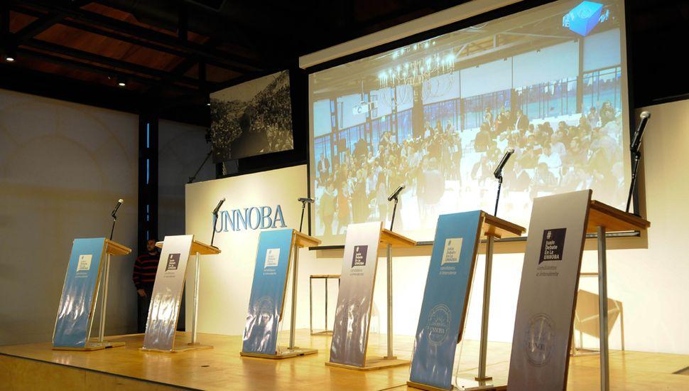 El debate será en el Salón de la Democracia.
