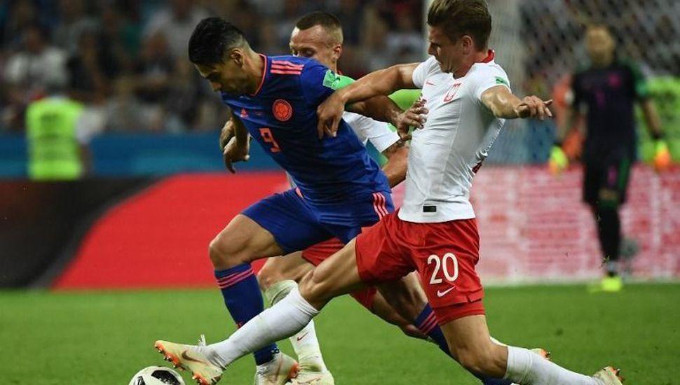 Colombia goleó a Polonia por 3 a 0