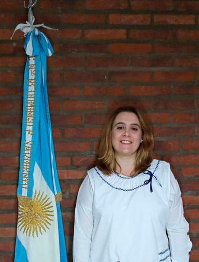 Analía Gutiérrez, directora de la Primaria 18.