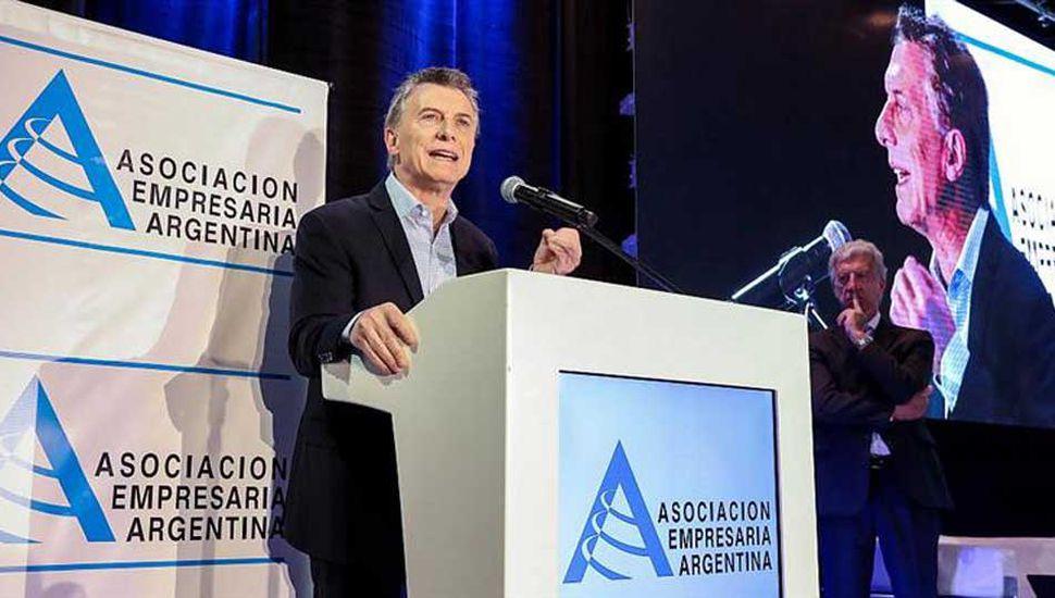 """Macri a empresarios: """"Si reciben  un pedido indebido, tienen un Presidente al cual acudir"""""""