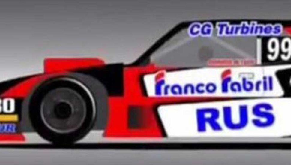 La Dodge Nº 99 que conducirá Mariano Altuna, a partir de la segunda fecha del Turismo Carretera.