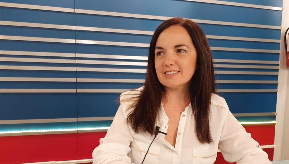 La concejal Carolina Echeverría, del Frente de Todos, participó del programa Reporte Especial.