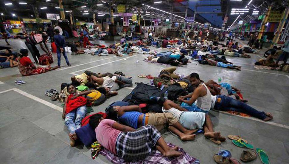 Millones de desplazados por el ciclón en Asia