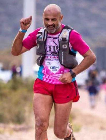 Gustavo Freda, ultramaratonista que va a ser premiado mañana.