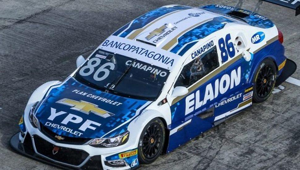 Agustín Canapino corre este fin de semana con Chevrolet, en el Stock Car brasileño.