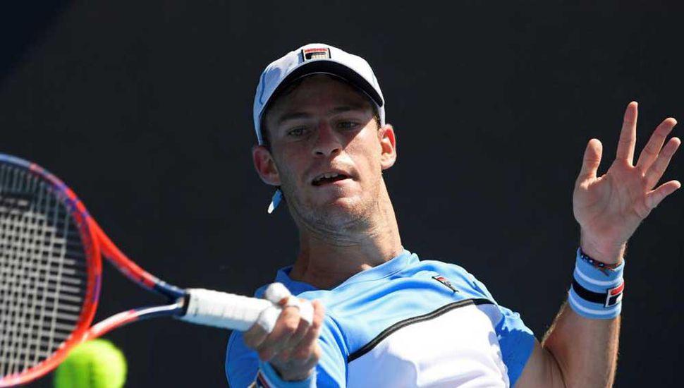 Buen debut tuvo ayer en Australia el tenista argentino Diego Schwartzman.