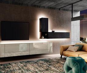 La iluminación indirecta permite resaltar algún mueble o determinadas áreas.