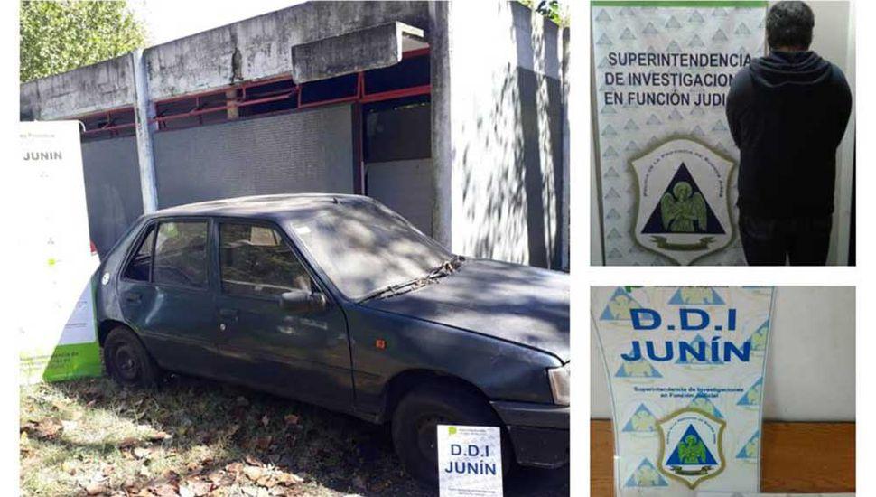 La policía actuó en Lincoln, Chacbauco y Junín.