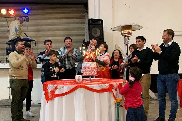 El Club Independiente de Junín celebró sus 98 años de vida institucional