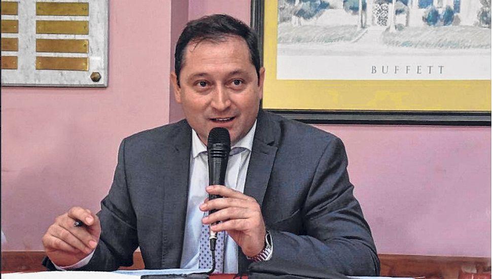 Salvador Serenal, en la apertura de sesiones.