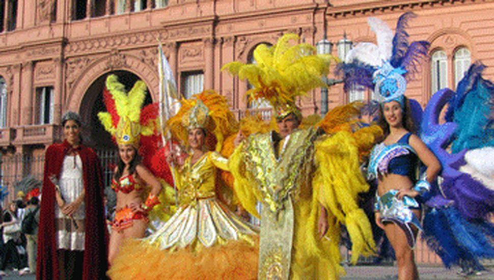 El Carnaval de Lincoln en la Rosada