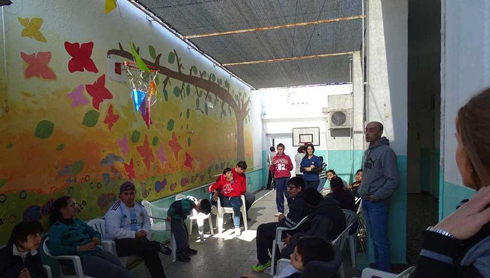 Crecer Juntos celebró el Día del  Niño con instituciones de la ciudad