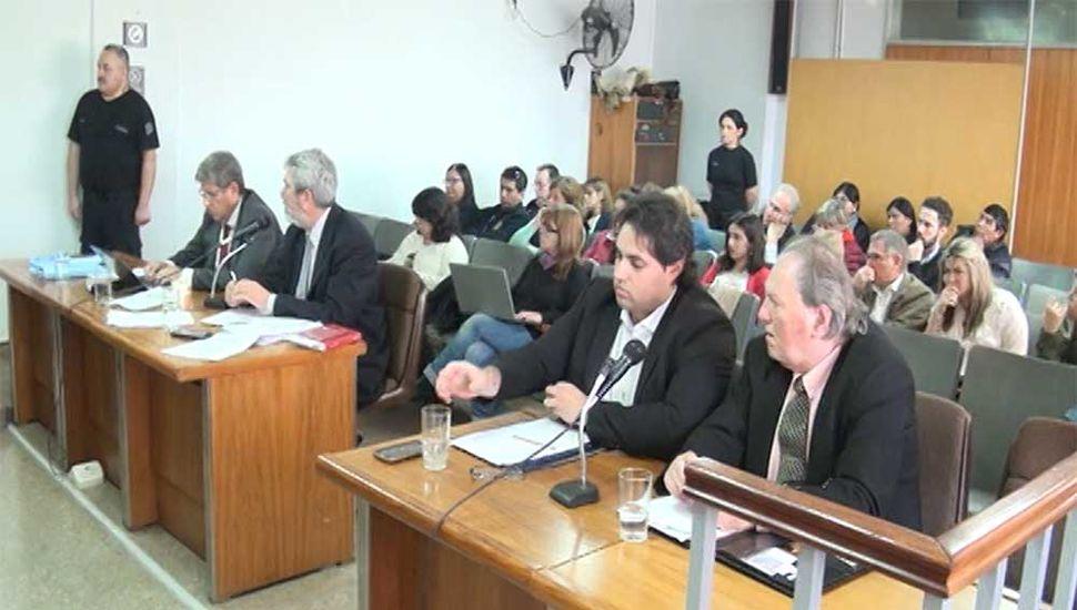 Continuó ayer el juicio por las trágicas muertes de Sol Medialdea y Miguel Colombo.