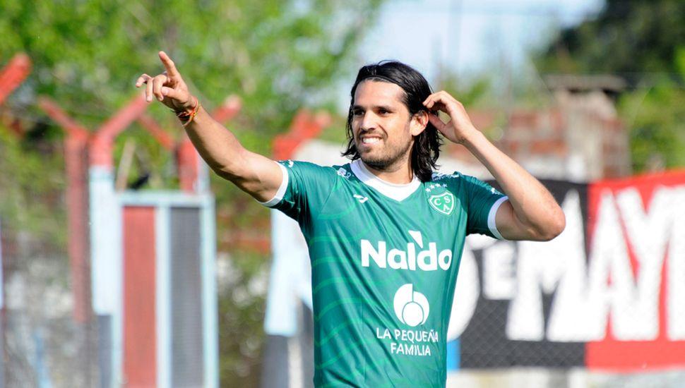 El contrato de Pablo Magnín con Sarmiento vence mañana.