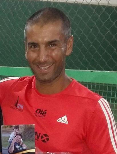El profesor Leandro Verón.