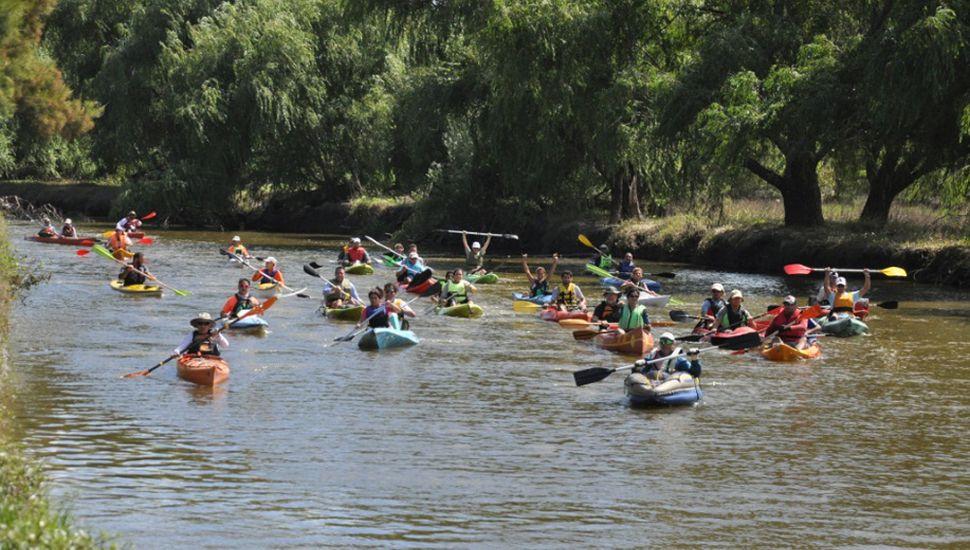 En el río Rojas habrá actividades durante todo el fin de semana.