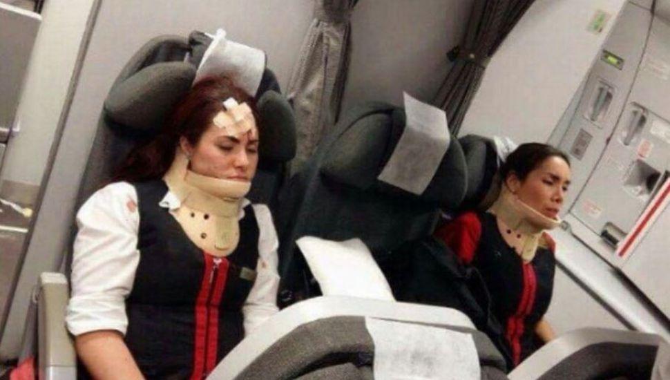 Al menos 15 heridos por una fuerte turbulencia en un vuelo que iba de Lima a Buenos Aires