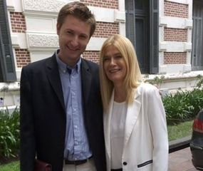 Carlos Ferraris se reunió con Verónica Magario