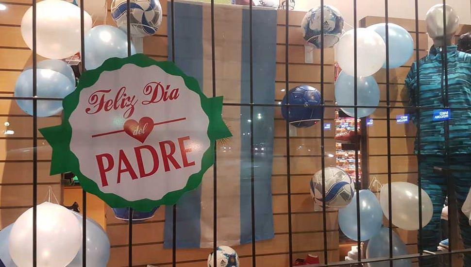 Las compras por el día del padre repuntan lentamente las ventas en comercios