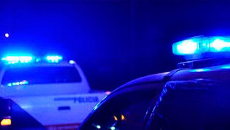 Efectivos policiales se hicieron presentes en los hechos.