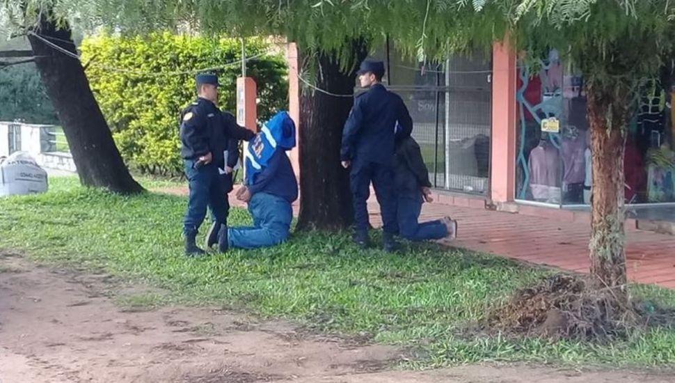 """Detuvieron a """"El Gitano"""", el sospechoso de matar a Yadón y herir a Olivares"""