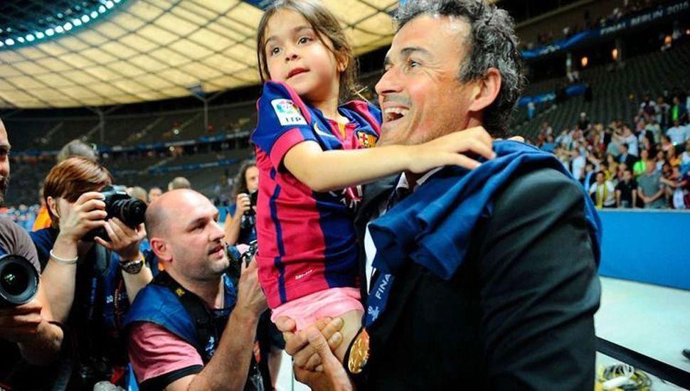 Murió la hija del ex futbolista Luis Enrique