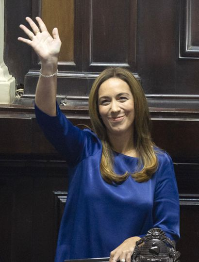 María Eugenia Vidal podría terminar saltando a una postulación presidencial, frente al derrumbe de Mauricio Macri en las encuestas.