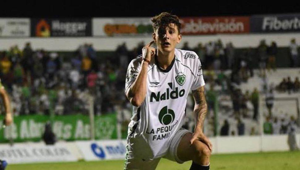 Nicolás Rinaldi, el ex Sarmiento jugará en Aldosivi.