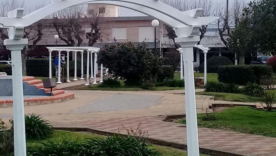 Comienza la obra de remodelación de la  plaza principal de General Arenales