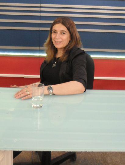 Danya Tavela, vicerrectora de la Unnoba, participó del ciclo TeleNoticias Plus.