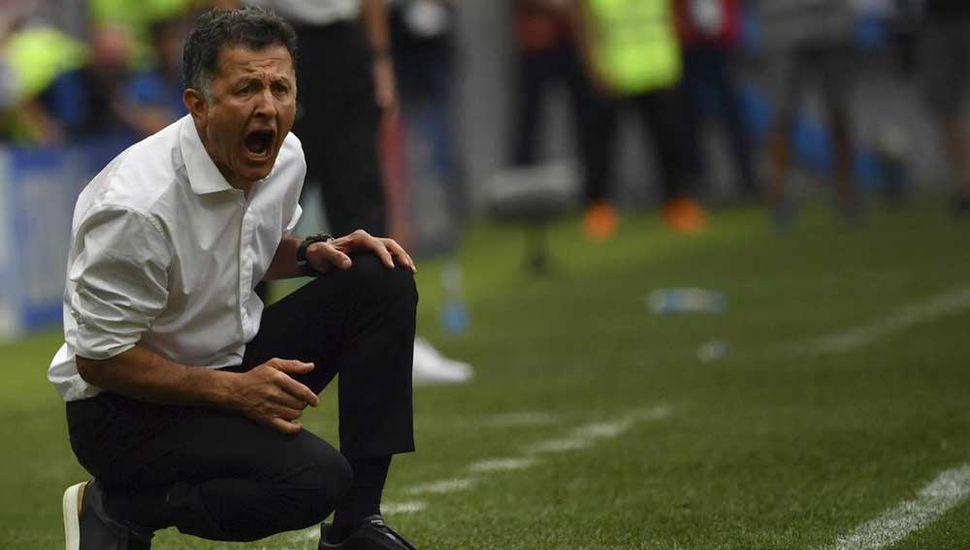 Juan Carlos Osorio, DT de México.