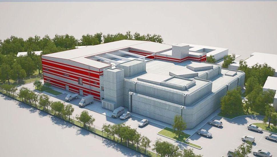 El Centro Argentino de Protonterapia (Cearp), cuyo pleno funcionamiento se prevé para 2022.