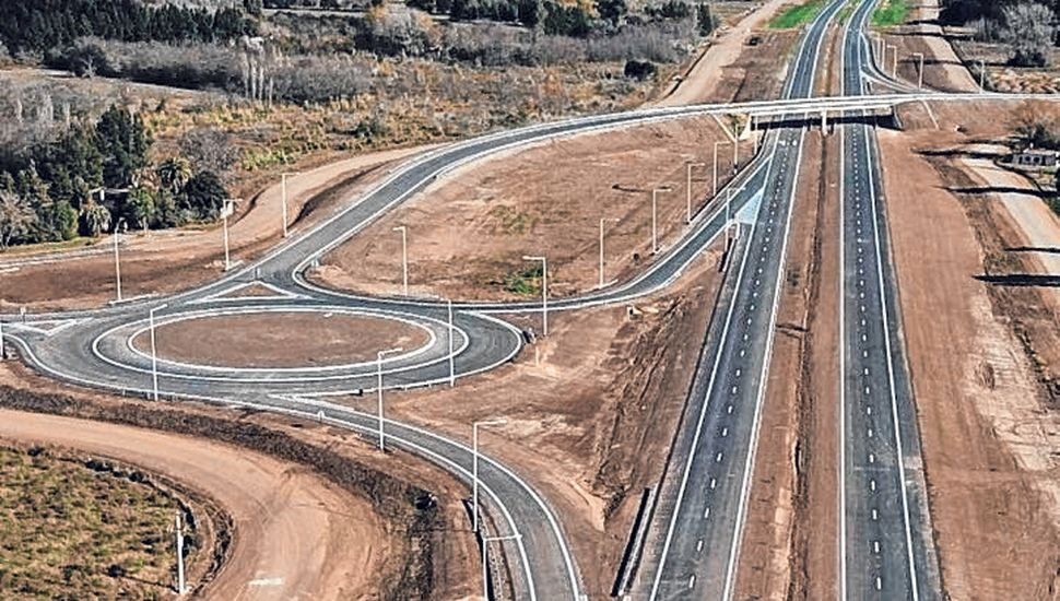 Durante la próxima semana inaugurarán  dos tramos de la autopista sobre la Ruta 7