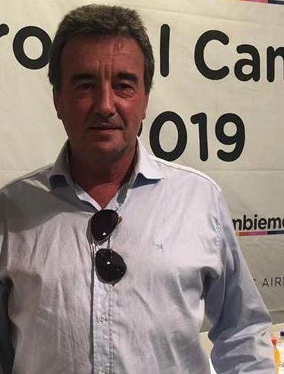 Roberto Manuel Maruri, presidente del bloque de concejales de Juntos por el Cambio de General Pinto.