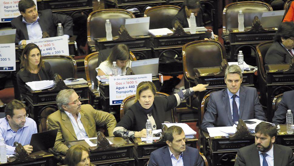 Cambiemos se negó a dar quórum para debatir el incremento de las tarifas de servicios públicos como había planteado la oposición.