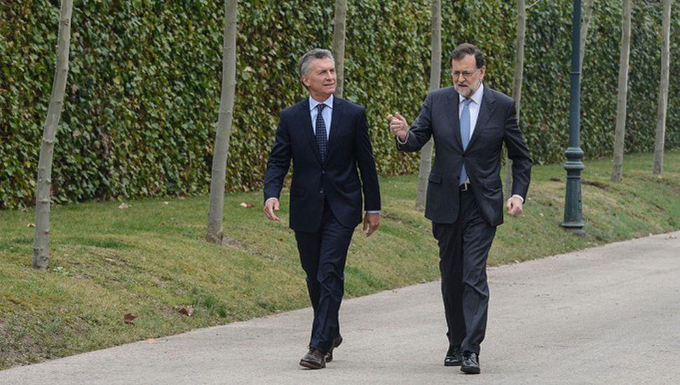 """Espaldarazo de Rajoy a Macri: """"Celebramos la ambiciosa política reformista que logró"""""""