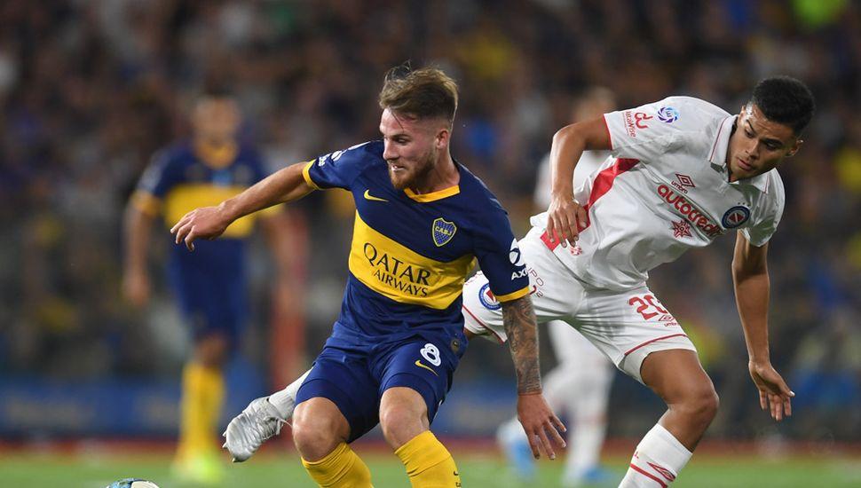 Boca y Argentinos son los líderes de la Superliga.