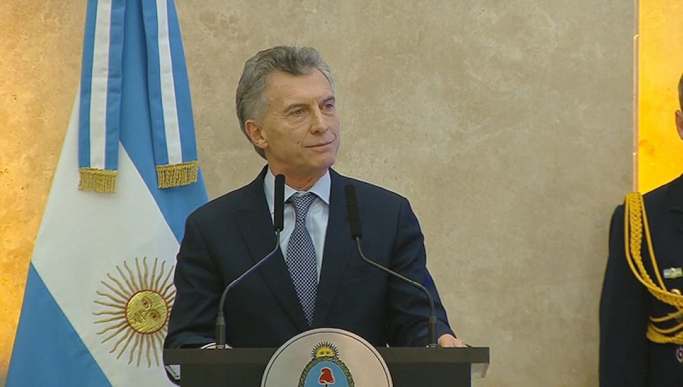 Macri anunció la eliminación del IVA a los principales productos alimenticios