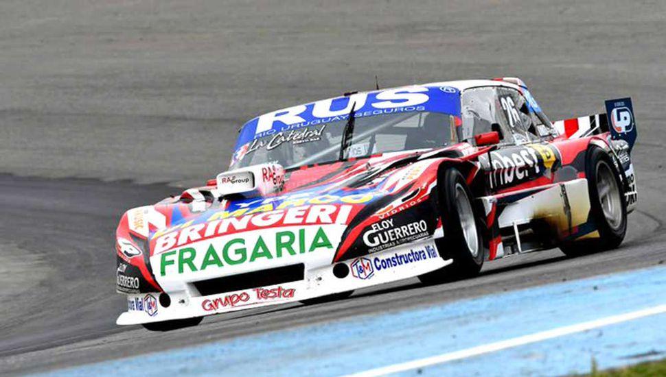 Gabriel Ponce de León quiere repetir con su Ford la gran tarea en Rosario en otro circuito santafesino, este fin de semana en Rafaela.