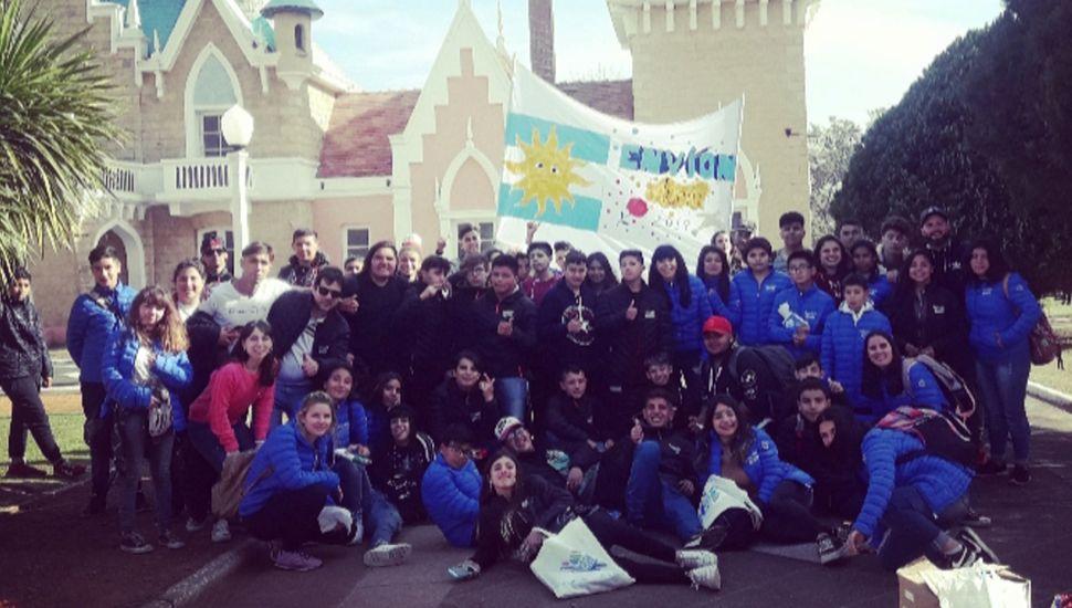 Los jóvenes juninenses participaron del Encuentro Provincial